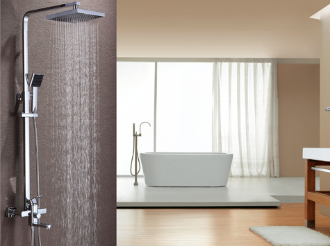 Wall Mounted Shower Set