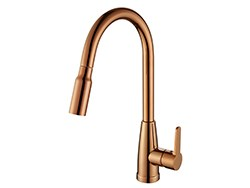 Pull out long neck upc 61-9 nsf kitchen sink faucet
