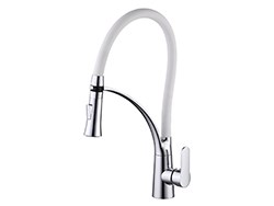 Single hole Kitchen Pull out sink faucet